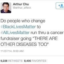 Black Lives Matter and Cancer-Arthur Chu