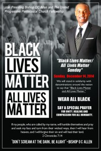 Church Black and All Lives Matter