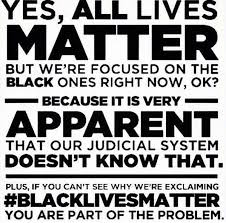 Focusing on Black Lives Matter Because Judicial Doesn't Know