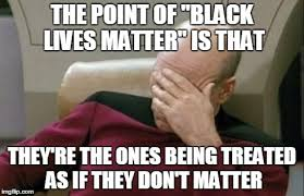Point of Black Lives Matter-Star Trek SMH